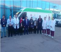 وكيل وزارة الصحة بجنوب سيناء يتفقد عيادات «الكوميسا» في شرم الشيخ