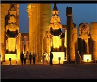 وفد طبي دولي يشاهد عرض «الصوت والضوء» بمعبد الكرنك