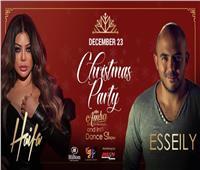 لتنشيط السياحة.. هيفاء والعسيلي يحييان احتفالات الكريسماس في القاهرة