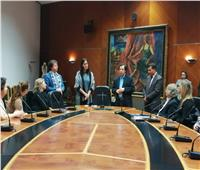 وفد إسباني من أكاديمية الفنون يزور مكتبة الإسكندرية