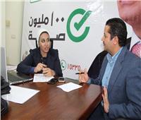 حوار  د.ريهام غلاب: نعمل 18 ساعة يوميًا لصحة المواطن «فيديو»
