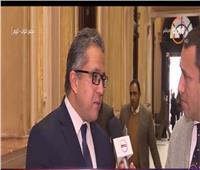 فيديو| خالد العناني: الاستعانة بـ«القطاع الخاص» لتقديم خدمات بالمناطق الأثرية