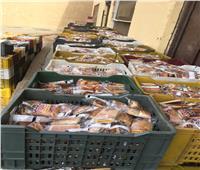 ضبط 35 ألف وجبة مدرسية منتهية الصلاحية بالفيوم