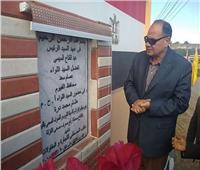 محافظ الفيوم يفتتح محطة رفع الصرف الصحي الفرعية بقرية النزلة