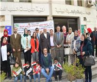 فيديو وصور| جامعة عين شمس تواصل الاحتفال باليوم العالمي لذوي الاحتياجات الخاصة