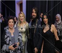 صور| نجمات الفن في ديفليه هاني البحيري لفساتين 2019