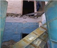 مصرع عامل ونجلته في انهيار عقار غرب الإسكندرية