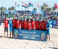 مصر أمام نيجيريا في نصف نهائي أمم إفريقيا للكرة الشاطئية