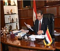 سعفان وقنصوه يفتتحان مؤتمر اتحاد العمال بالإسكندرية