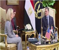 وزيرة الأمن الداخلي الأمريكي تشيد بدور مصر في مكافحة الإرهاب| صور
