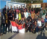 مصر تحصد لقب البطولة العربية التاسعة للكانوي والكياك بالأقصر