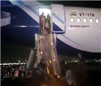 فيديو| إخلاء طائرة إيرباص نيو 320 بسبب دخان في الكابينة