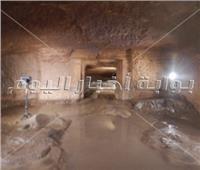 الكشف عن مقبرة من عصر الأسرة الـ18 بـ«كوم أمبو»| صور
