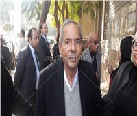 طارق فودة من جنازة «إبراهيم سعدة»: لن ننسي فارس الصحافة العربية