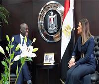 وزيرة الاستثمار تبحث مع نائب رئيس البنك الدولى دعم مبادرات التكامل الاقليمى