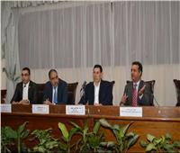 نائب رئيس جامعة عين شمس يلتقي الطلاب الليبيين الوافدين