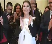 فيديو| ماجدة الرومي تشارك جمهورها الاحتفال بعيد ميلادها