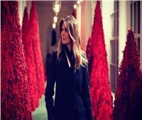 أشجار الميلاد الخاصة بميلانيا ترامب تتعرض للسرقة في البيت الأبيض