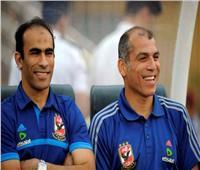 فيديو| لقطة طريفة بين  يوسف وعبد الحفيظ خلال مباراة الأهلي وجيما