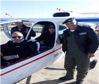 شاب أردني من ذوي الاحتياجات الخاصة يحقق حلمه بالطيران