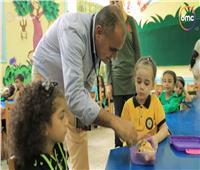 مدرسة ببورسعيد تُعيد مفهوم «التربية والتعليم» بفكر جديد