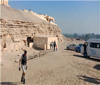 خاص| الصور الأولى للكشف الأثري الجديد بجبانة سقارة قبل افتتاحها