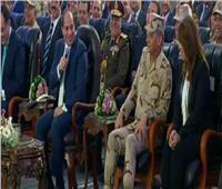 فيديو| تعرف على سبب «ممازحة» الرئيس السيسي لـ«وزيرة التضامن»