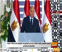 شاهد| محافظ القاهرة يفشل في الإجابة عن أسئلة الرئيس السيسي