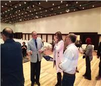 وزيرة الهجرة تصل مدينة الغردقة استعدادًا لإطلاق «مصر تستطيع.. بالتعليم»