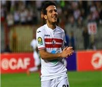 مصطفى فتحي يسجل هدفا رابعا للزمالك في القطن