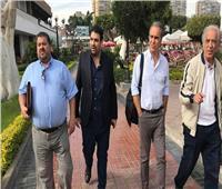 «لازارتي» يصل مقر الأهلي لعقد إجتماع مع الخطيب