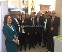 بالصور.. وزير الكهرباء يتفقد معرض المؤتمر العربىلاستخدامات الطاقة الذرية