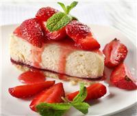 حلو اليوم  طريقة عمل «كيك الفراولة»