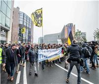 الآلاف يحتجون في بروكسل على اتفاق الأمم المتحدة للهجرة