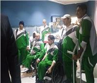منتخب السعودية لسلة الكراسي المتحركة يتفقد متحف مطار القاهرة