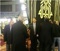 خالد عبدالعزيز يشارك بعزاء الكاتب الصحفي إبراهيم سعدة