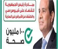 فحص 67 ألف و897 مواطن ضمن حملة «100 مليون صحة» بشمال سيناء