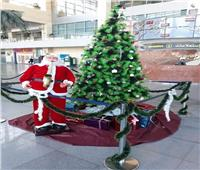 مطار برج العرب يتزين استعداداً للعام الميلادي الجديد