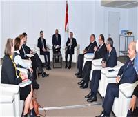 بسام راضي: السيسي التقى رئيس الوزراء السلوفيني بفيينا