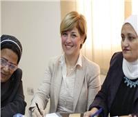 «قومي المرأة» يبحث التعاون مع اتحاد عمال مصر