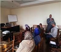 صور| ختام برنامج قانون الخدمة المدنية بـ«ثقافة القليوبية»