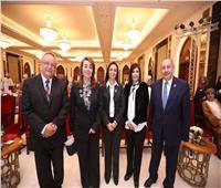 وزير التضمان تشيد بالأوراق البحثية المصرية بمؤتمر «المرأة العربية»