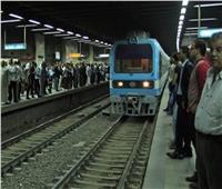 انتظام حركة المترو بعد انتحار فلسطيني بمحطة السادات