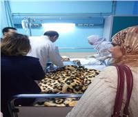 الصور الأولى للتلاميذ المصابين في انهيار سور مدرسة المرج