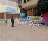 والي: نتابع انهيار سور مدرسة بمنطقة المرج