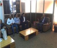 سفير مصر في بوركينا فاسو يستقبل بعثة نادي المصري البورسعيدي