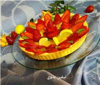 حلو اليوم  «تارت الفراولة بكريمة الليمون»