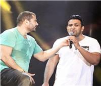 اسمع| «كوبلهين» لم يطرحهما عمرو دياب من أغنية «باين حبيب»