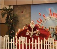 صورِ| بـ«الورود» و«شجر الكريسماس».. المطارات المصرية تستعد لاحتفالات رأس السنة