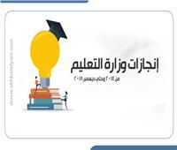 إنفوجراف|إنجازات وزارة التعليم من 2014 وحتى ديسمبر 2018